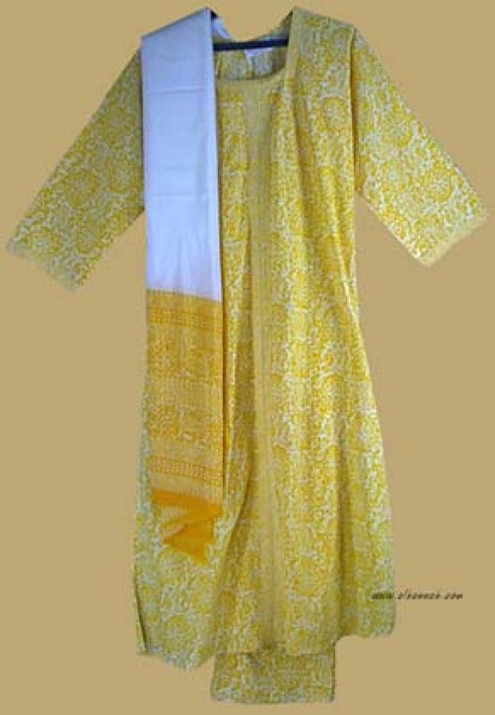Traditional Print Salwar Kameez   sk712