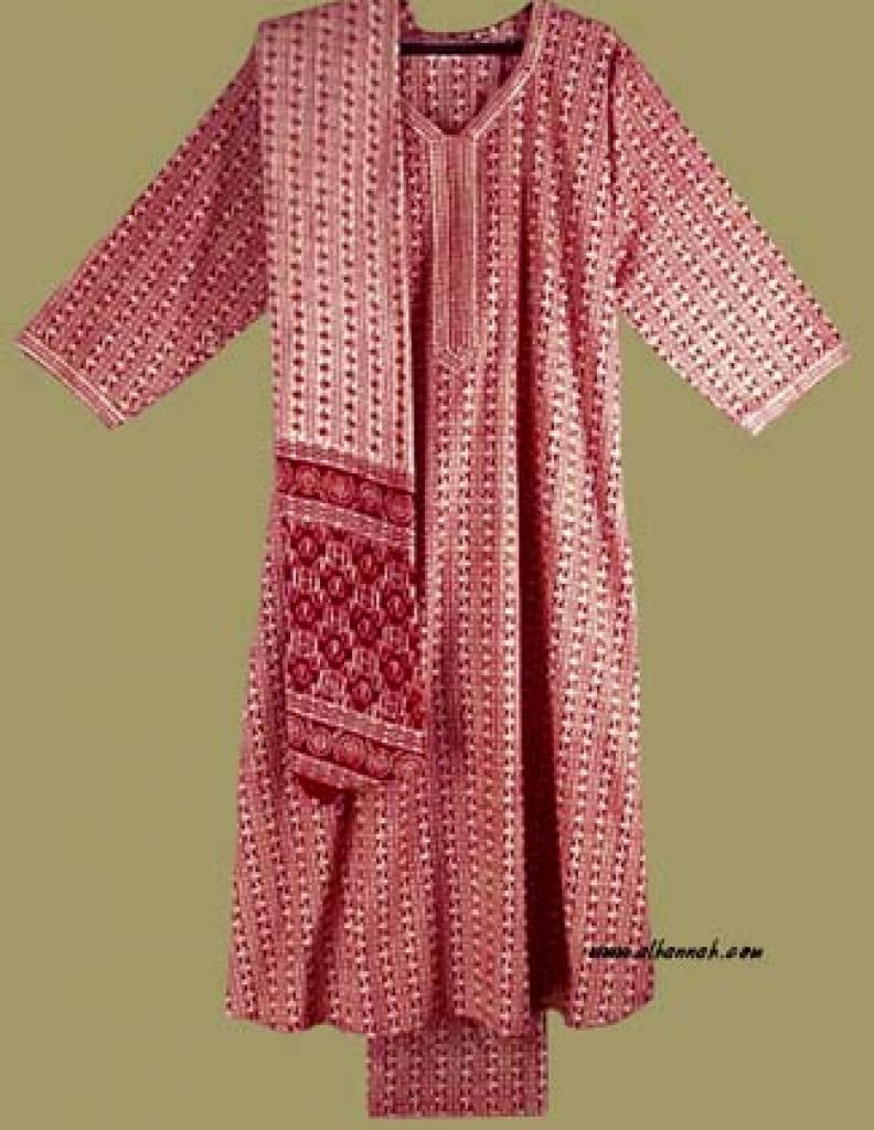 Traditional Print Salwar Kameez   sk715