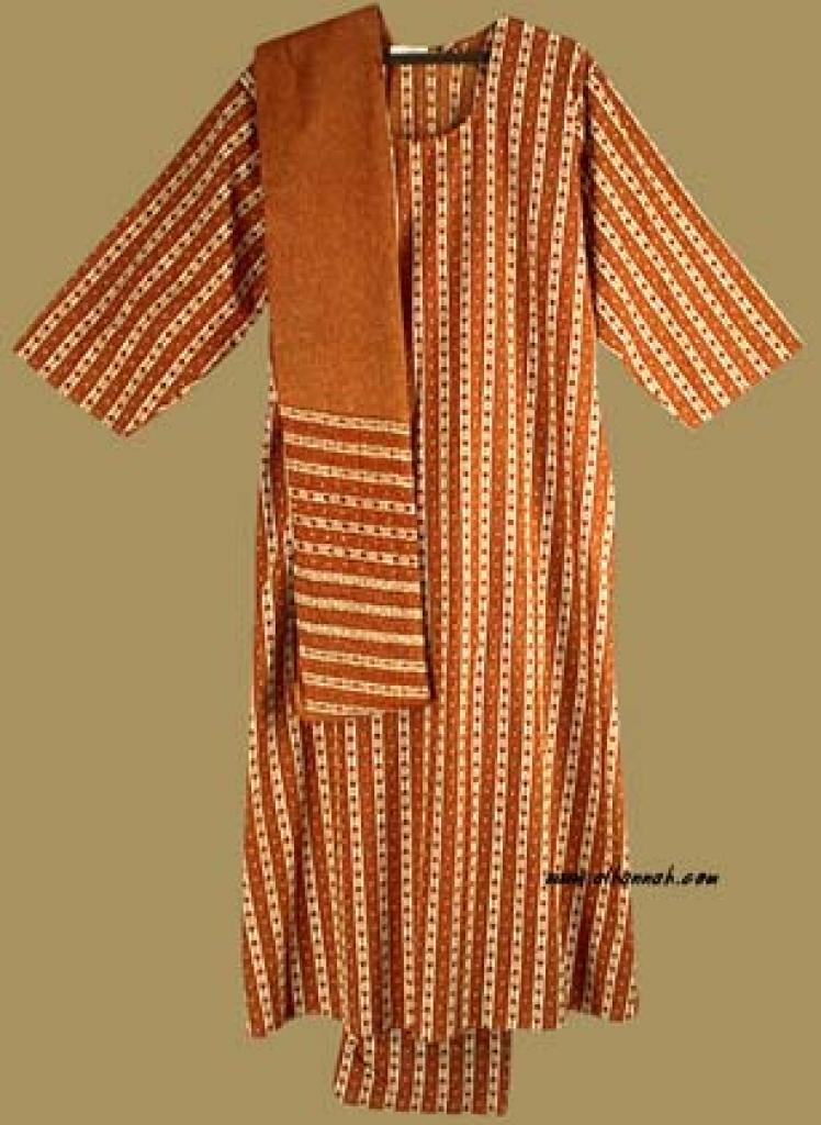 Traditional Striped Salwar Kameez   sk721