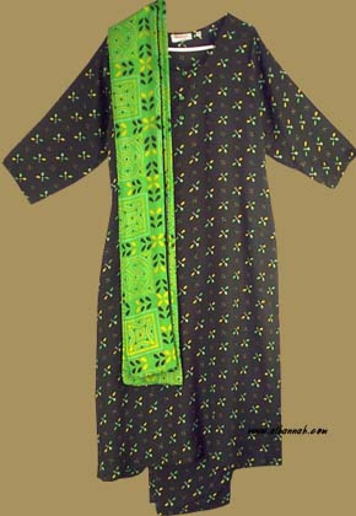 Traditional Print Salwar Kameez sk728