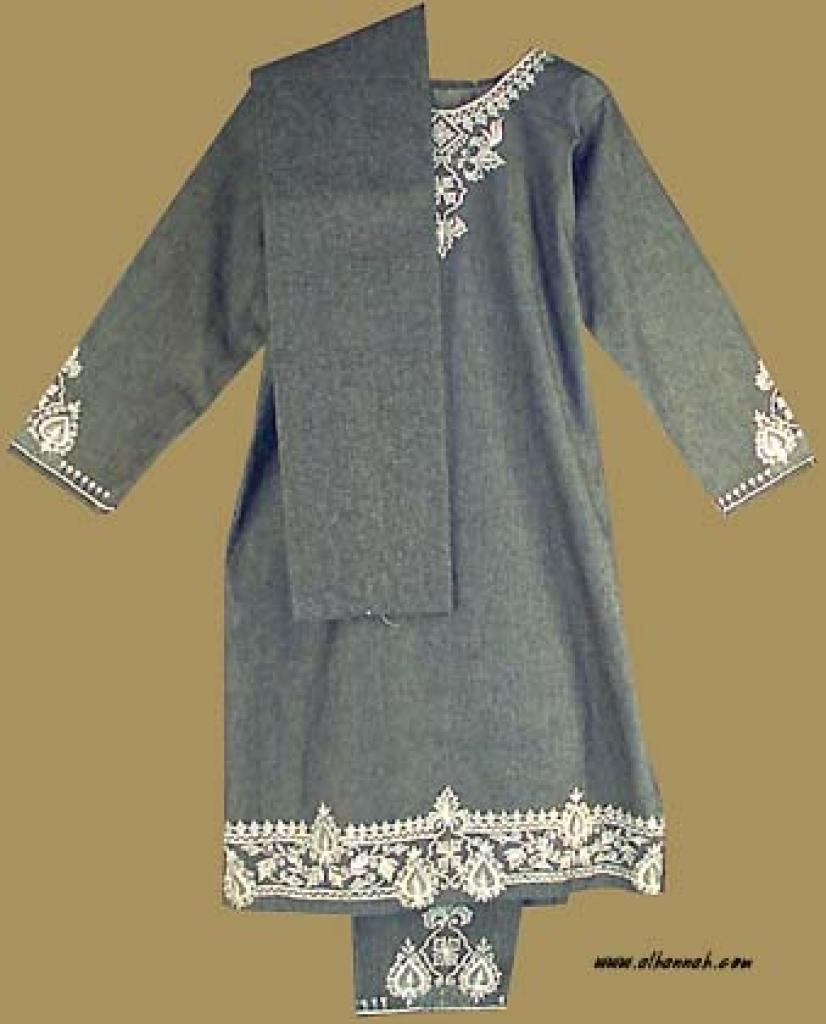 Denim Salwar Kameez - Petite Size sk736