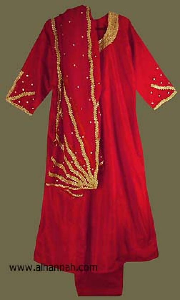 Embroidered Satin Salwar Kameez   sk742