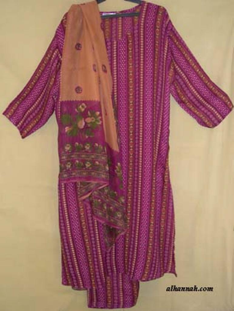 Traditional Striped Salwar Kameez sk800