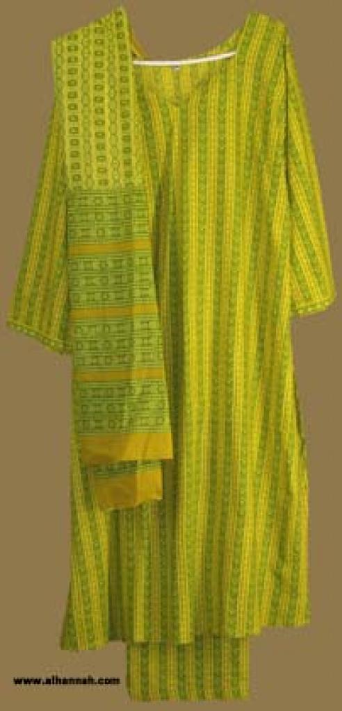 Traditional Striped Salwar Kameez sk810