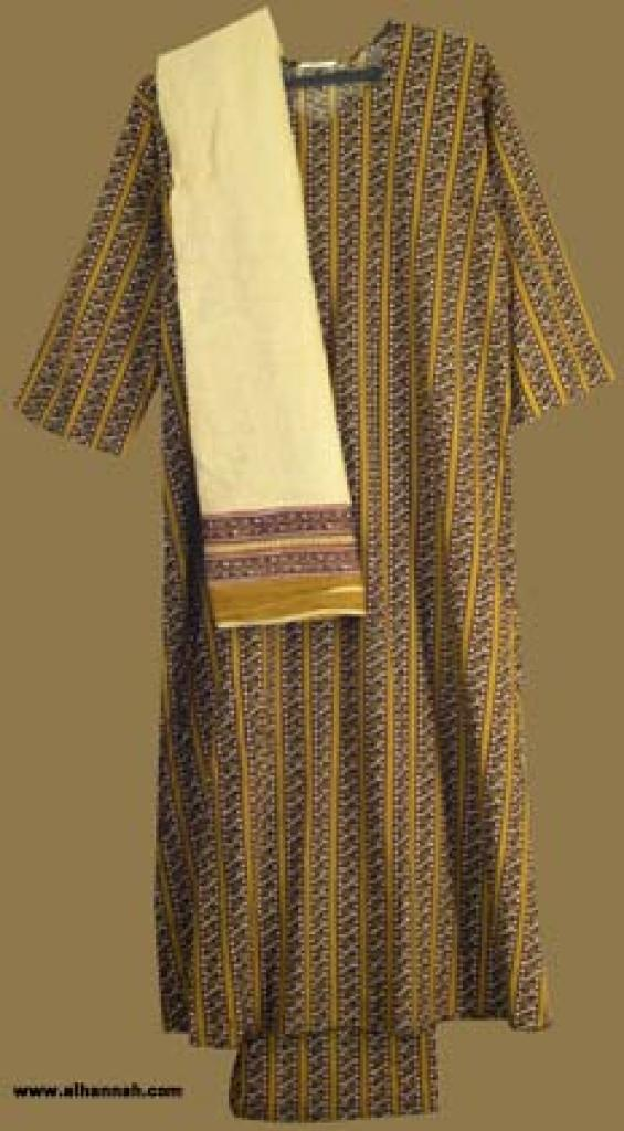 Traditional Striped Salwar Kameez   sk814