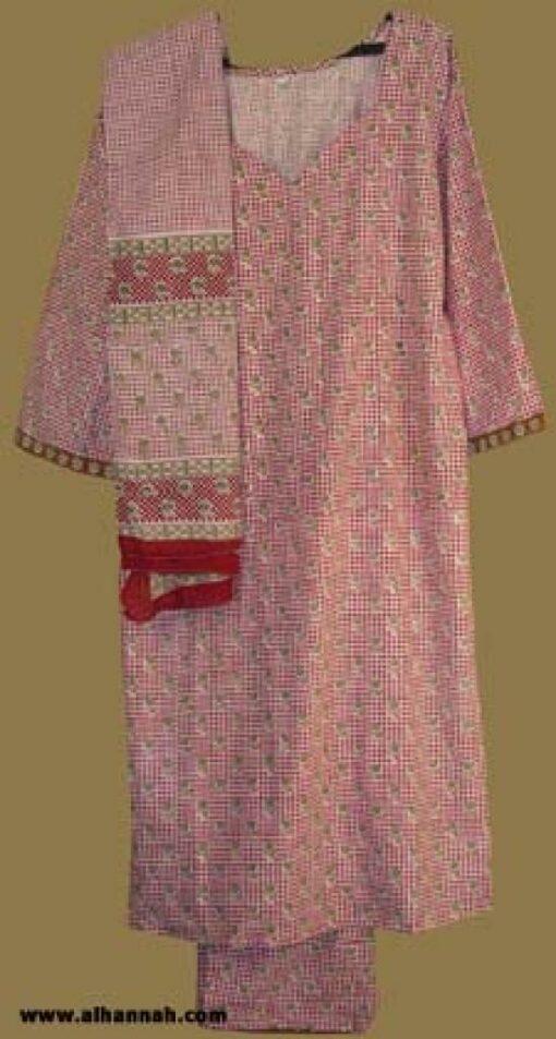 Traditional Floral Salwar Kameez  sk816