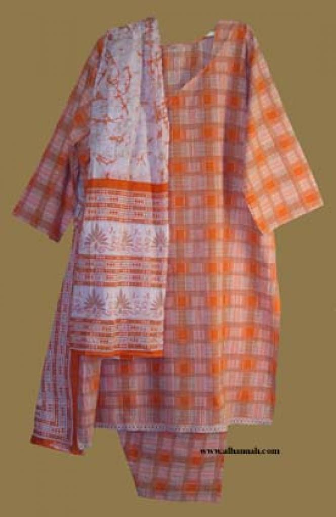 Traditional Cotton Salwar Kameez  sk839