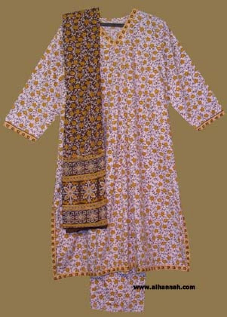 Traditional Cotton Salwar Kameez   sk854