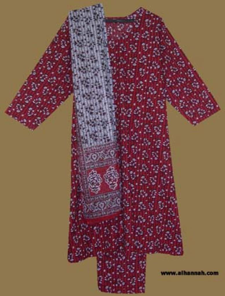 Traditional Cotton Salwar Kameez   sk858