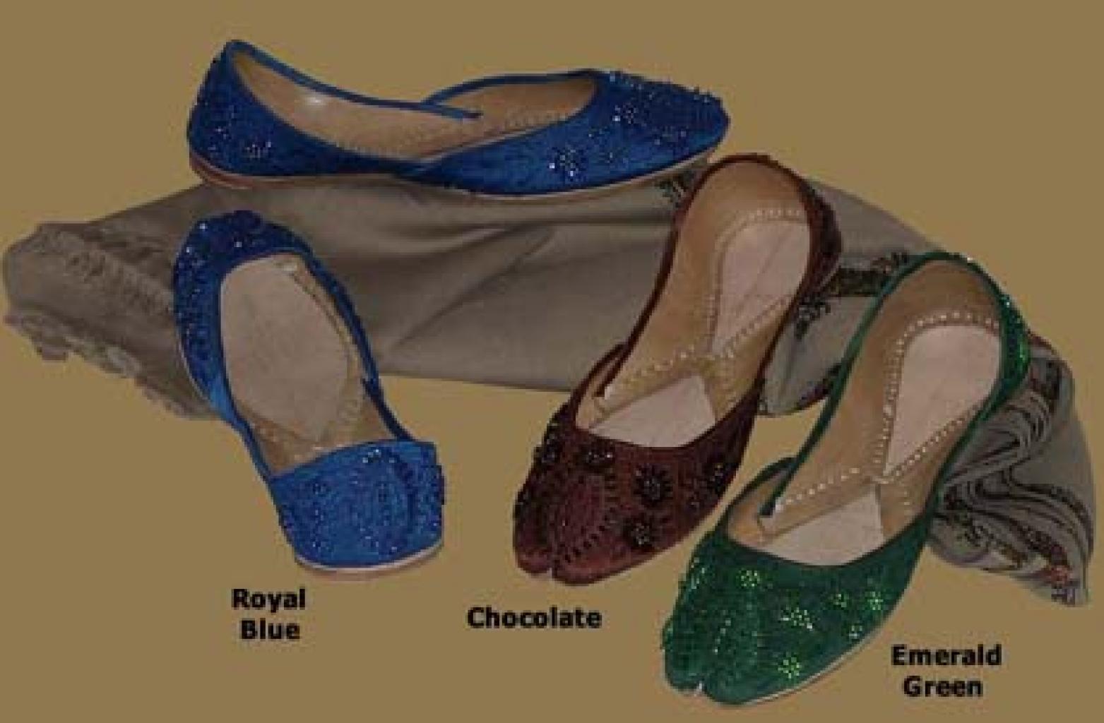 Women's Classic Punjabi Shoes sk865