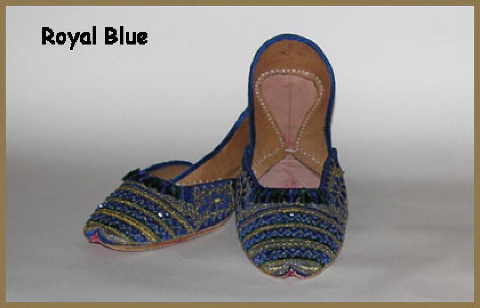 Women's Classic Punjabi Shoes sk866