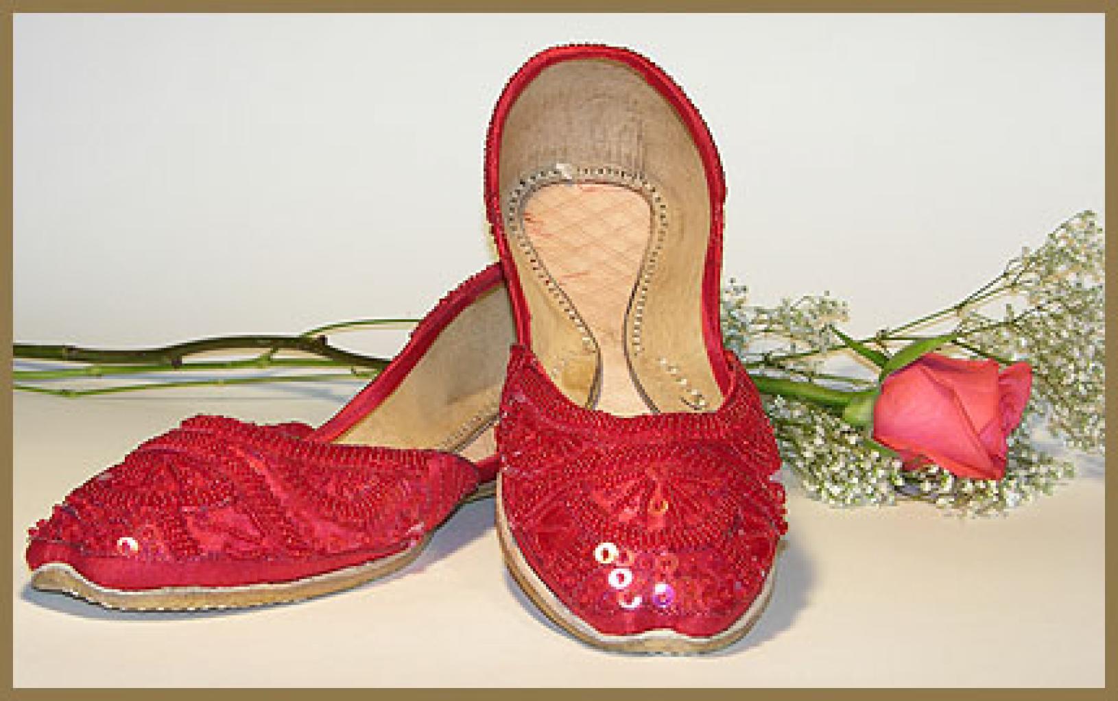 Women's Classic Punjabi Shoes  sk867