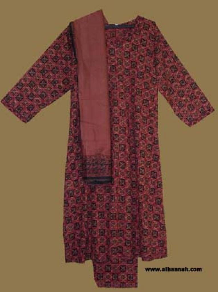 Traditional Cotton Salwar Kameez sk875