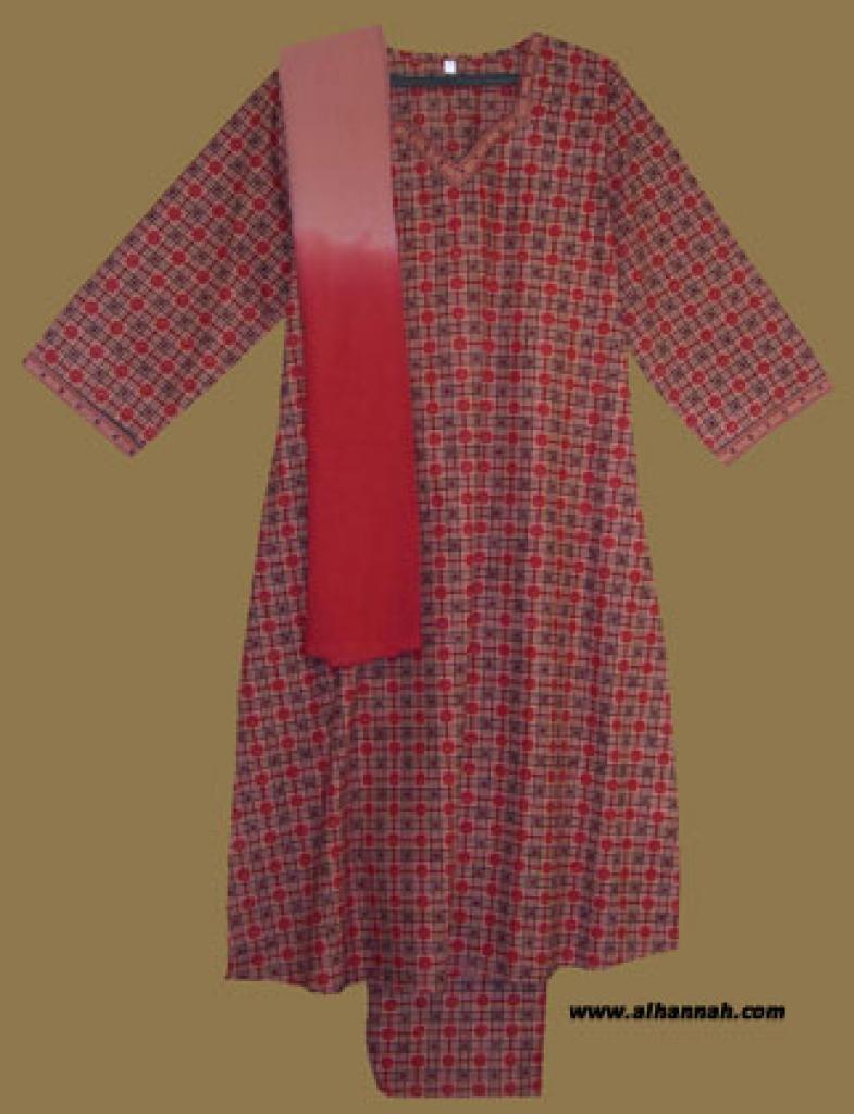 Traditional Cotton Salwar Kameez sk877