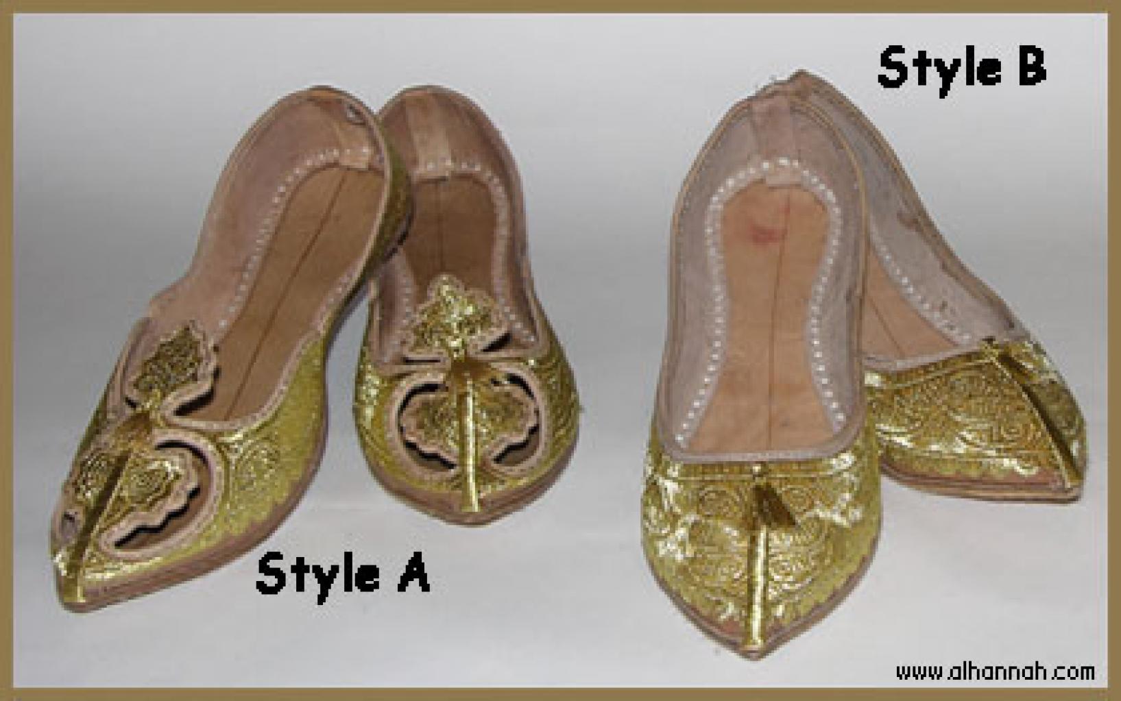 Embroidered Punjabi Shoes sk901