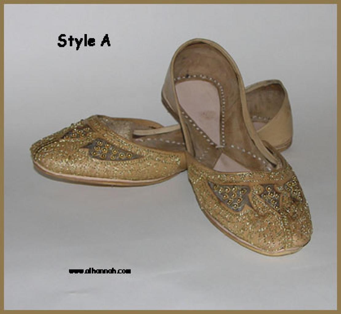 Embroidered Punjabi Shoes sk902
