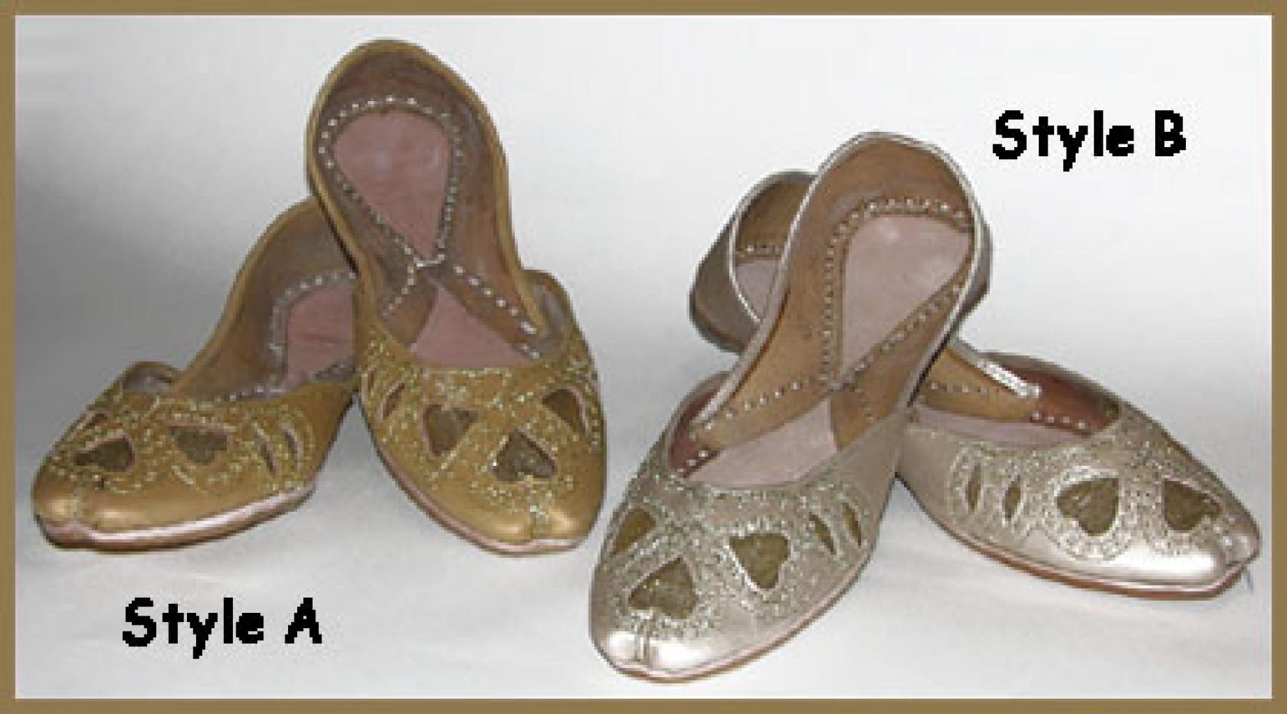 Embroidered Punjabi Shoes sk904
