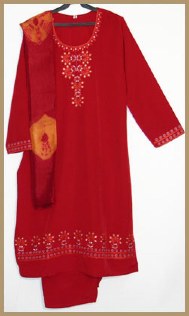 Embroidered Salwar Kameez sk951