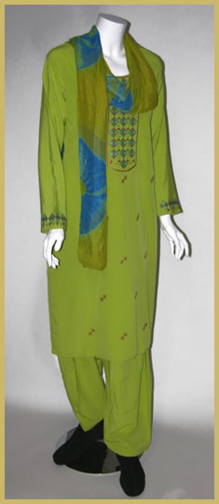 Embroidered Salwar Kameez sk963