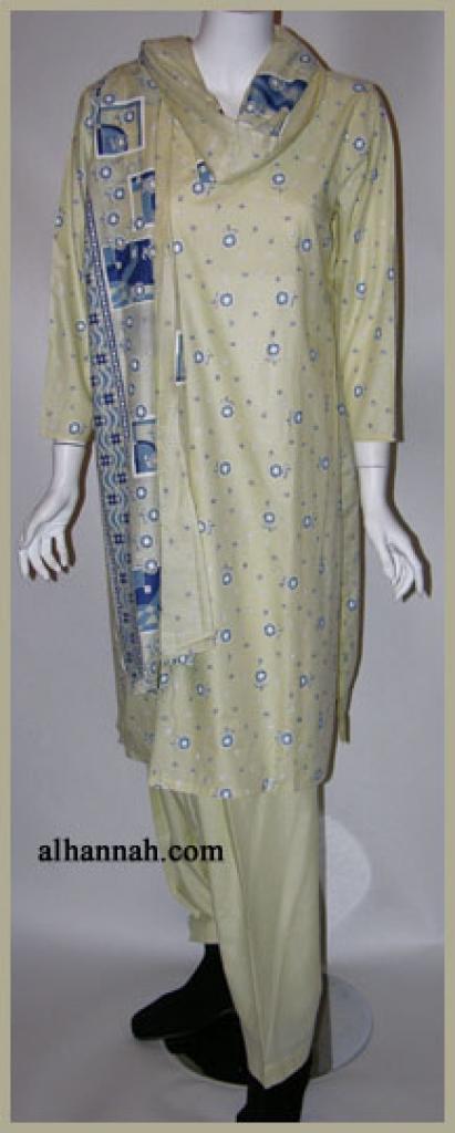 Petite Sized Cotton Salwar Kameez sk970