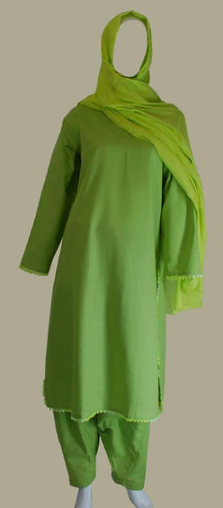 100% Cotton Solid Color Salwar Kameez sk978