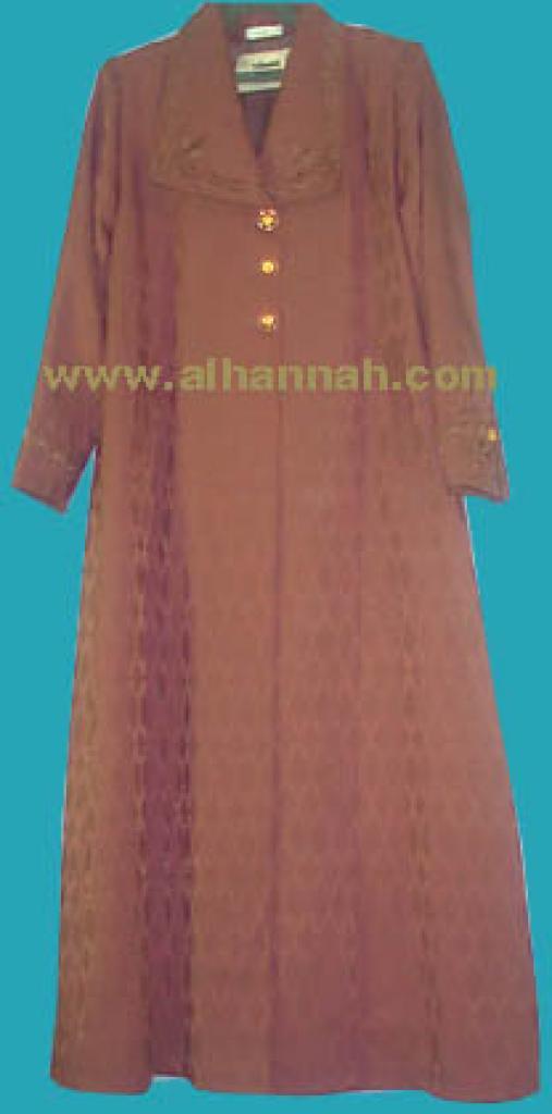 Jilbab - elegant coat style sr170