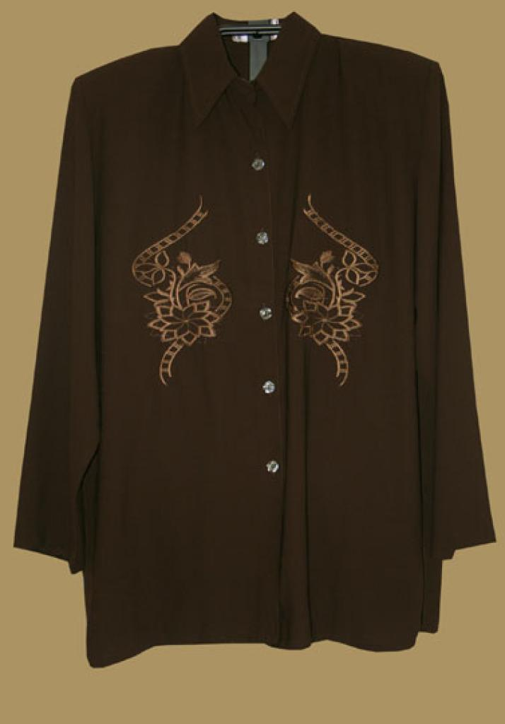 Embroidered Tunic Top  st518