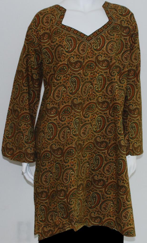 Long printed tunic   st543