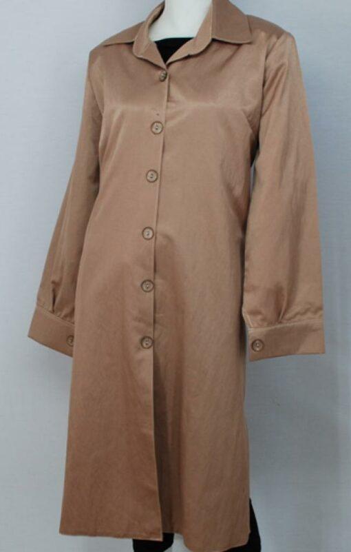 Al Karam Satin Plus Size Tunic Shirt st553