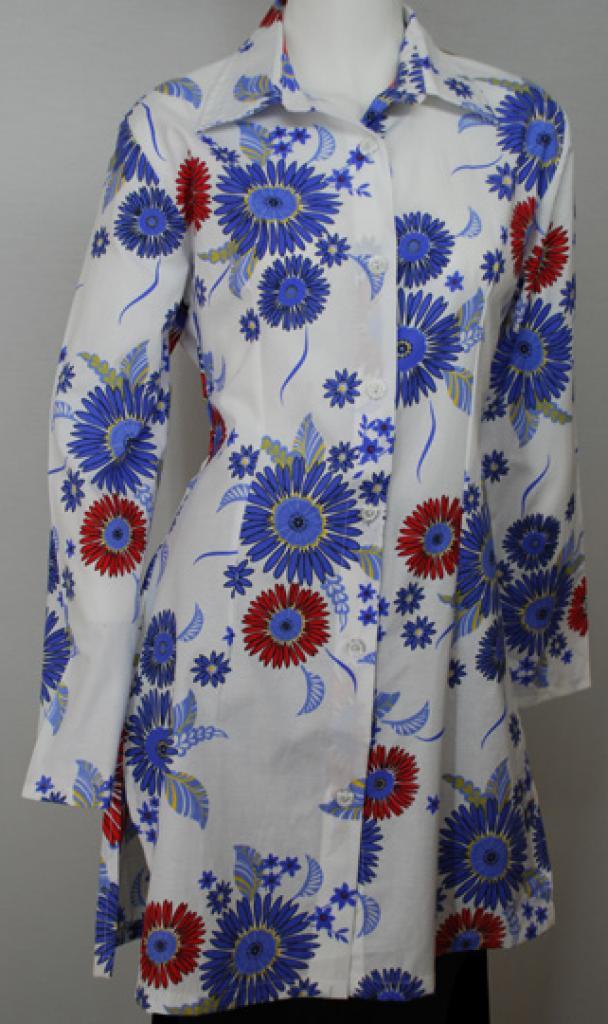 Printed Cotton Long Tunic st570