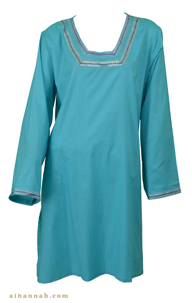 Mariam  Cotton Kurta Tunic Top st593