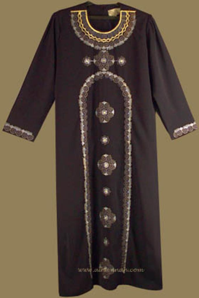 Embroidered Bedouin Style Thobe th511