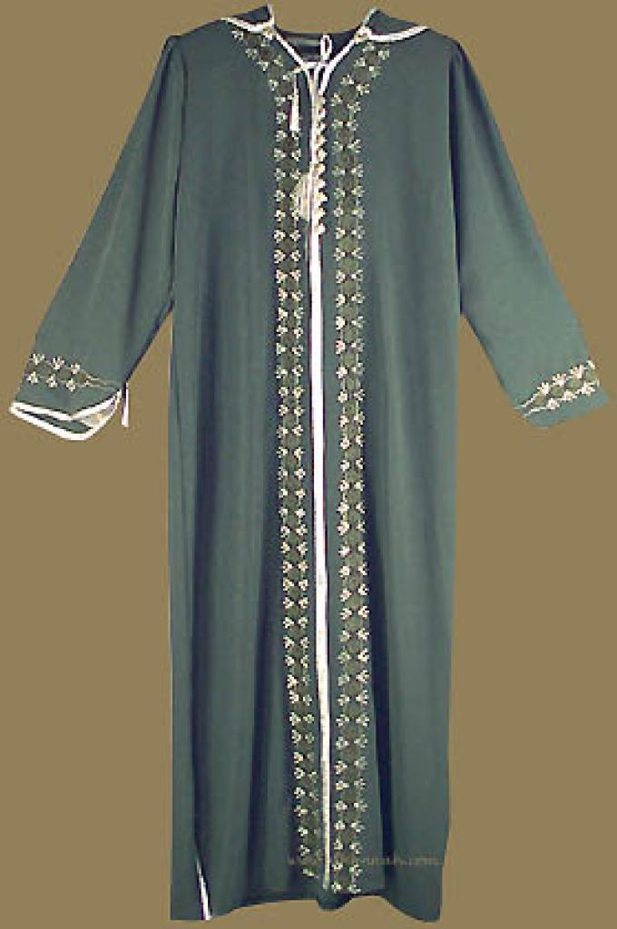 Moroccan Style Hooded Thobe th513
