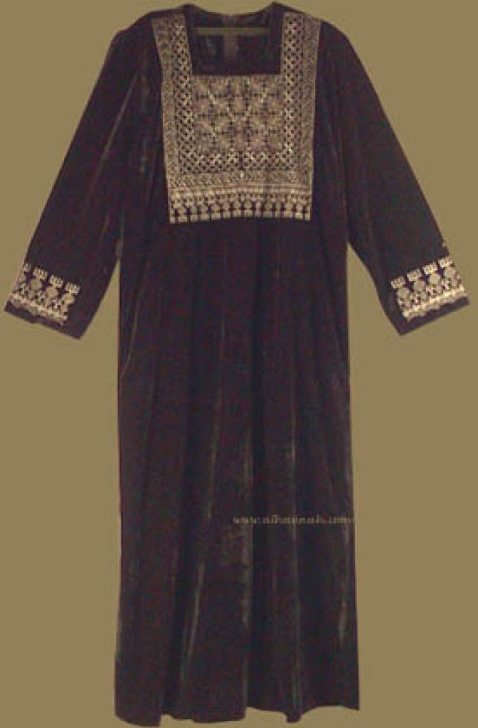 Bedouin Style Velveteen Thobe th517