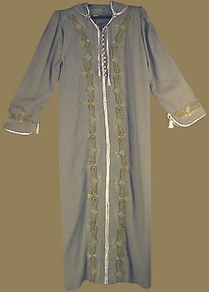 Moroccan Style Hooded Thobe th518