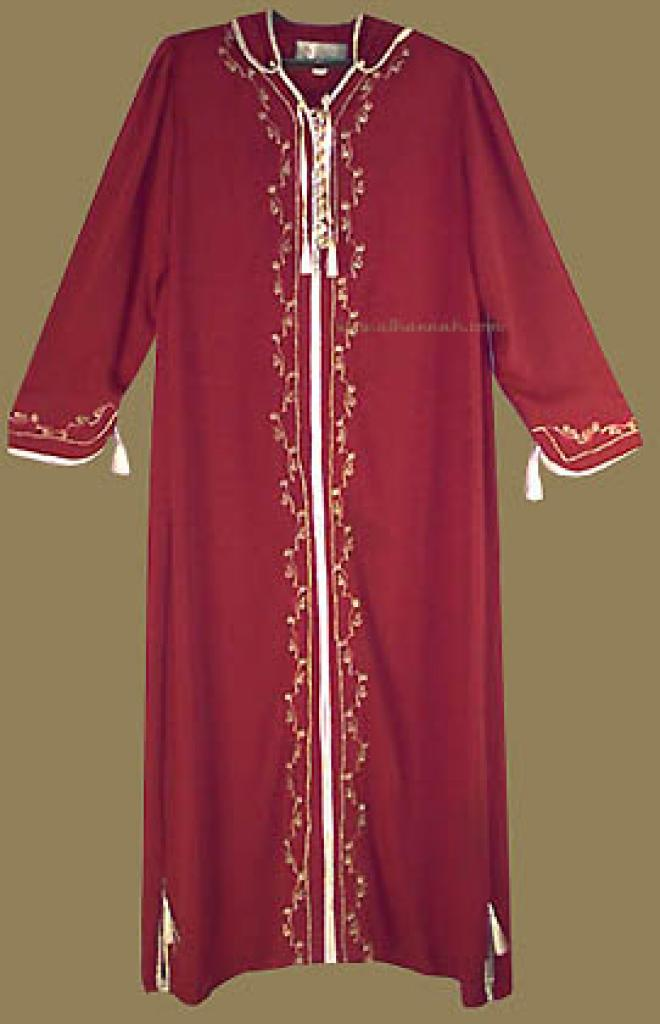 Moroccan Style Hooded Thobe th520
