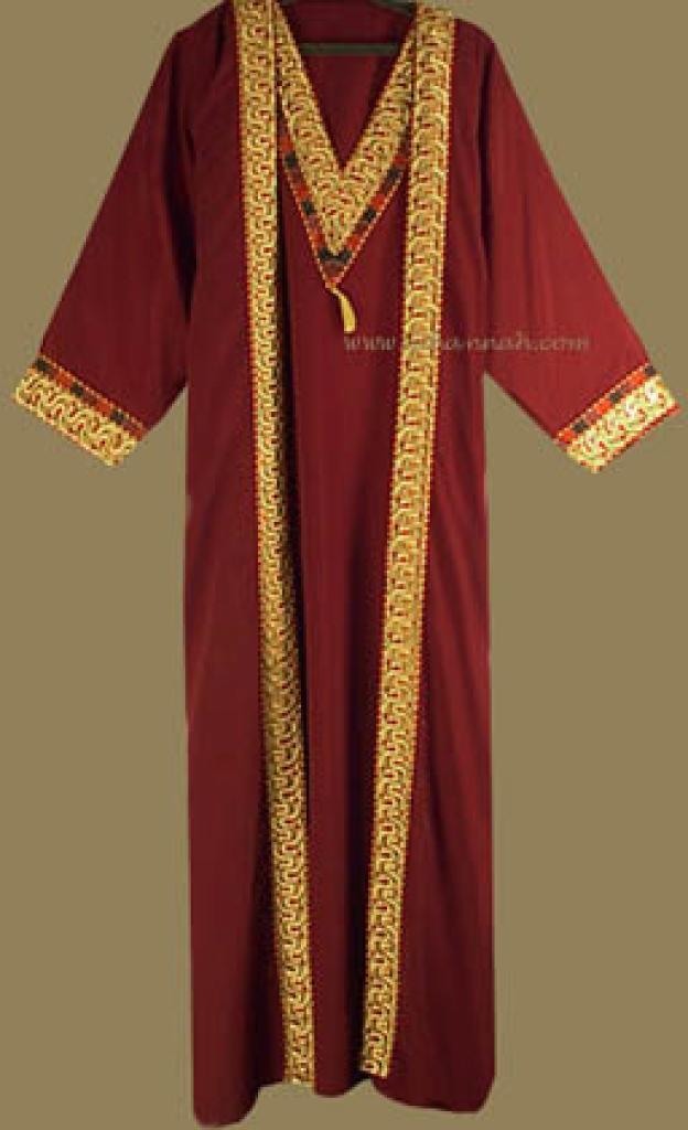 Two Piece Arabian Abaya and Thobe Set th524