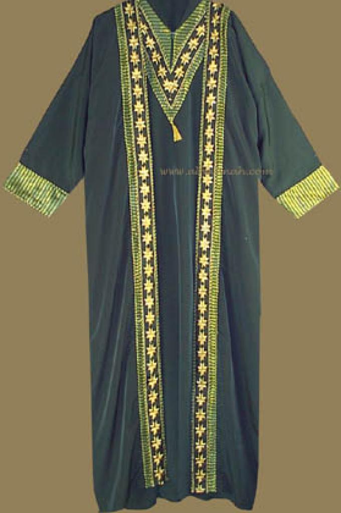 Two Piece Arabian Abaya and Thobe Set th525