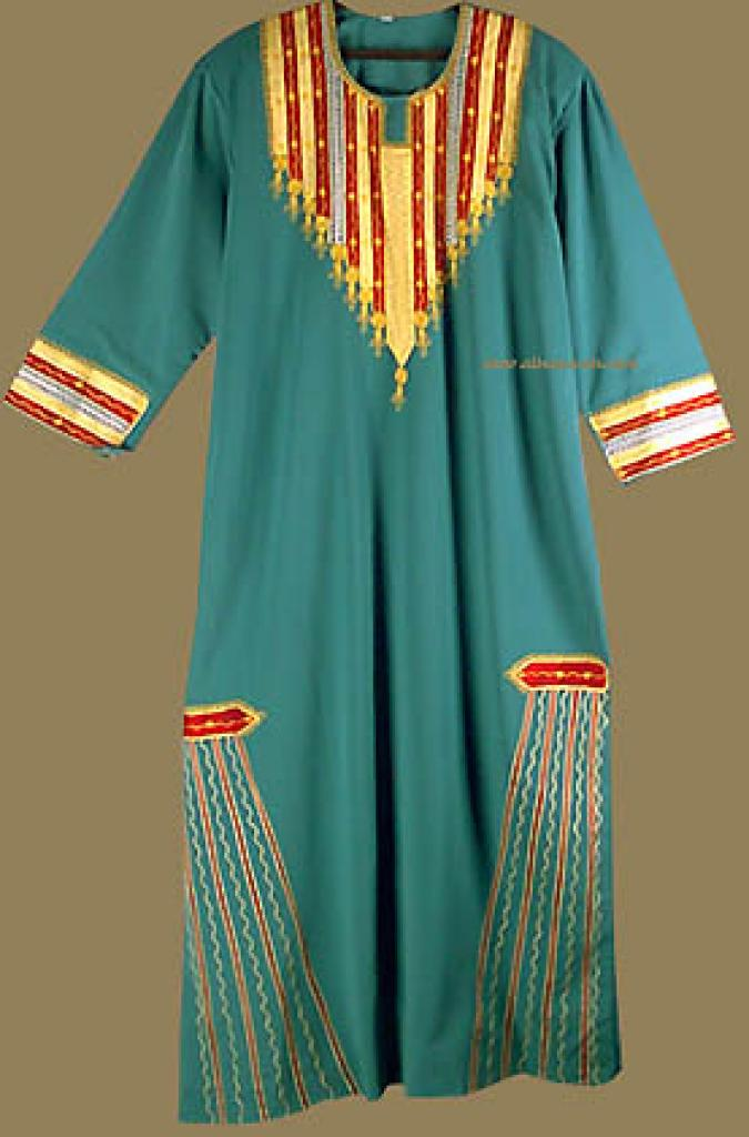 Embroidered Palestinian Style Thobe th527