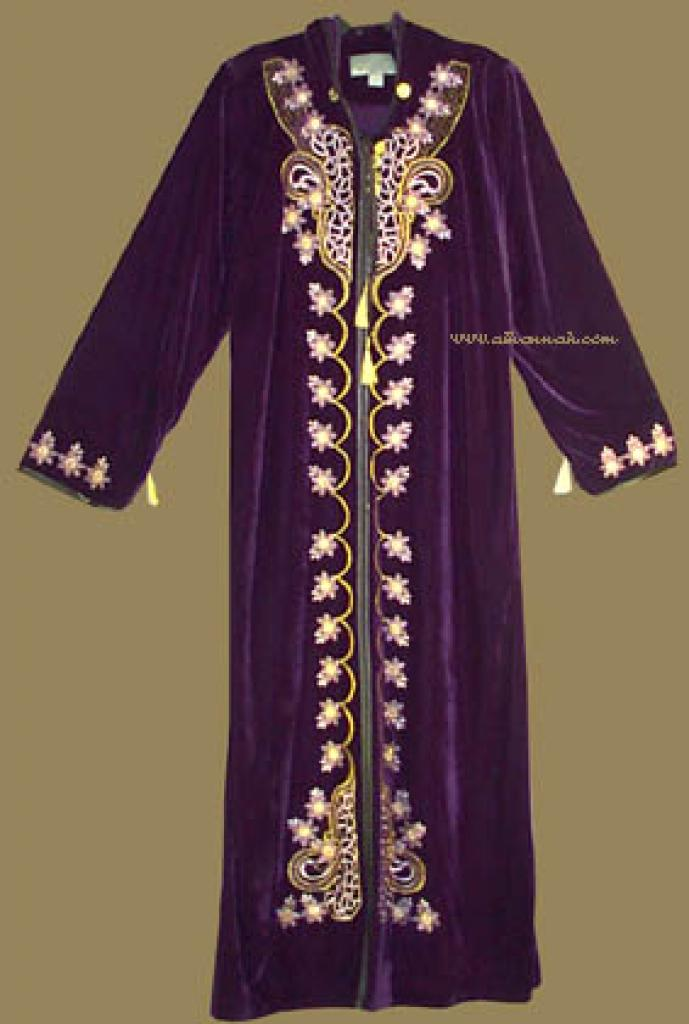 Moroccan Style Hooded Thobe th530