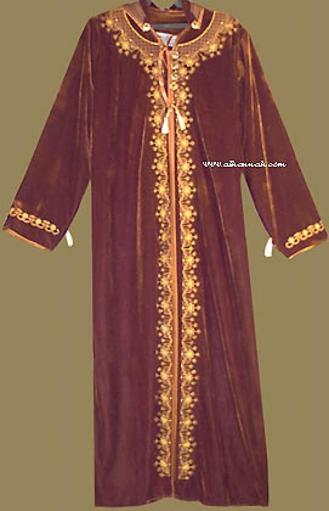Moroccan Style Hooded Thobe th531