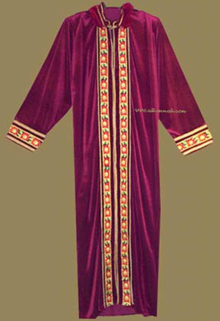 Moroccan Style Hooded Thobe th532