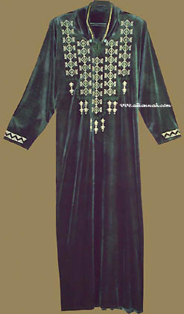 Moroccan Style Hooded Thobe th533