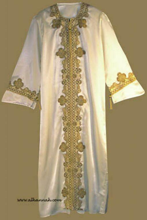 Satin Arabian Wedding Dress th539