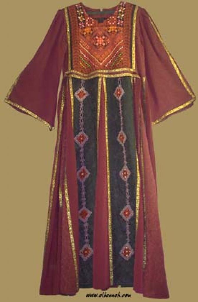 Jordanian Queen's Dress th541
