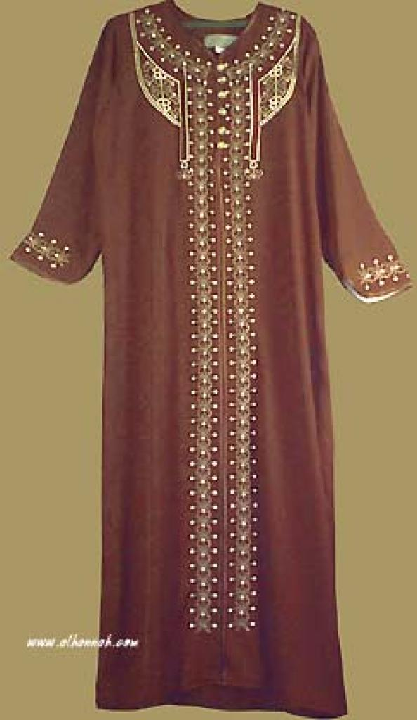 Arabian  Style Embroidered  Thobe th544