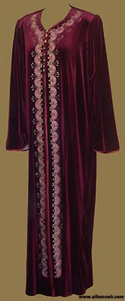 Moroccan Style Hooded Thobe  th549