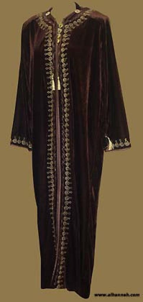 Moroccan Style Hooded Thobe  th550