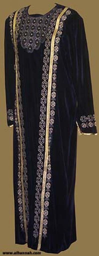 Embroidered Arabian Thobe th554