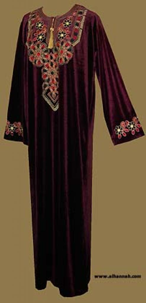 Embroidered Arabian Thobe  th557